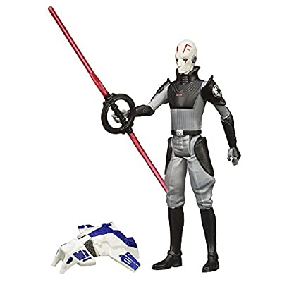 Star Wars Rebels 3.75-Inch Figure Space Mission The Inquisitor: Toys & Games
