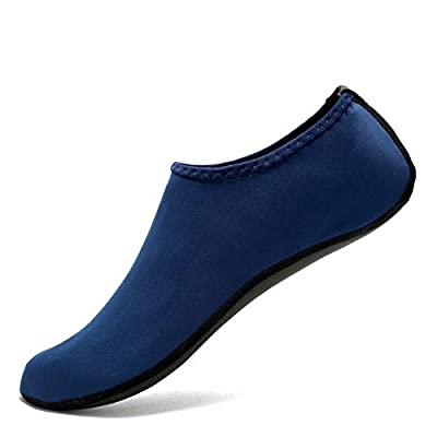 CIOR Water Skin Shoes Aauq Socks With New Upgraded Durable Outsole, XL: US Women: 8.5-9.5 Men: 8-9, Navy