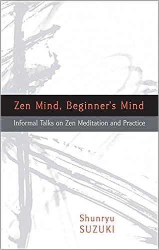 Amazon zen mind beginners mind informal talks on zen amazon zen mind beginners mind informal talks on zen meditation and practice 8601401052623 shunryu suzuki trudy dixon huston smith fandeluxe Images