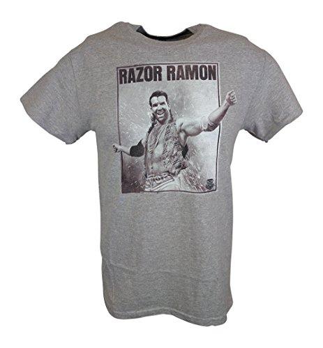 Razor Ramon Oozing Machismo WWE Mens T-shirt-XL by WWE