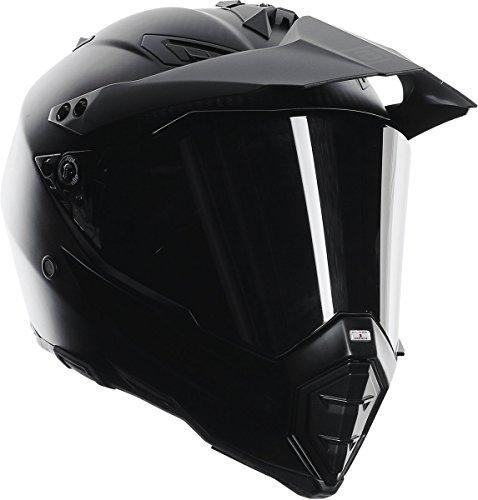 Agv Sport (AGV AX-8 Dual Sport Evo Helmet (Matte Carbon, Large))
