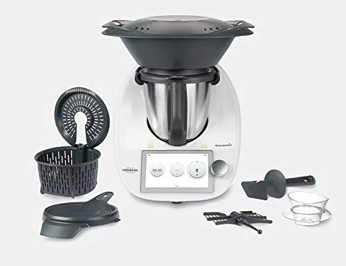 Vorwerk Thermomix TM6, Built-In Wifi Countertop Appliance Cooker with 20 Different Culinary Functions, 110v USA Version