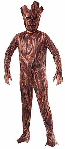 Rubie's Costume Guardians of the Galaxy Groot Child's Costume, One Color, (Super Creepy Halloween Costumes)
