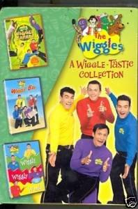 The Wiggles A Wiggle Tastic Collection (Wiggle Safari, Wiggle Bay, Wiggle Wiggle ()