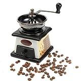 Wood Mill - Retro Wooden Manual Coffee Grinder Vintage Bean Hand Grinding Machine - Hoagy Bomber Awkward Chocolate Submarine Sandwich Italian Poor Berry Torpedo Cuban Deep - 1PCs
