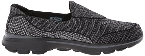 Walk bbk Skechers 35 3 Eu Basses nbsp;super 3 Go Sneakers Femme Sock Black gwvxa