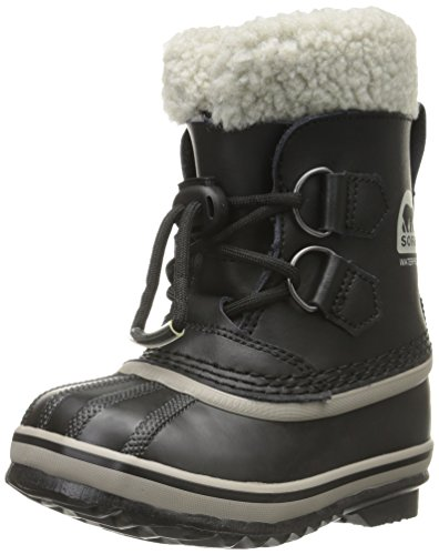 Sorel Yoot Pac TP Cold Weather Boot (Toddler/Little Kid/Big Kid), Black, 12 M US Little Kid ()