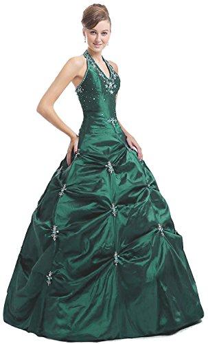 Kmformals Damen Halfter Prom BallKleid Abendkleid Quinceanera ...