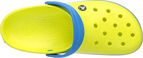 Crocs Unisex tennis ball green/ocean, 9 US / US