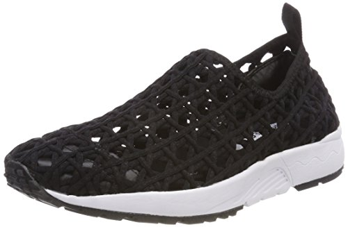 Femme In Noir California Baskets black Woven Bkbk Of Sneaker Black Material Colors 80xgwW