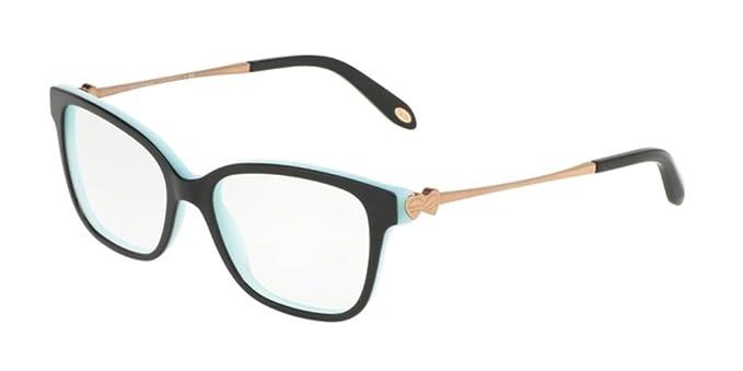 966c7839e39 Tiffany TF2141 Eyeglasses 8055 Black Blue 52-16-140  Amazon.co.uk  Clothing