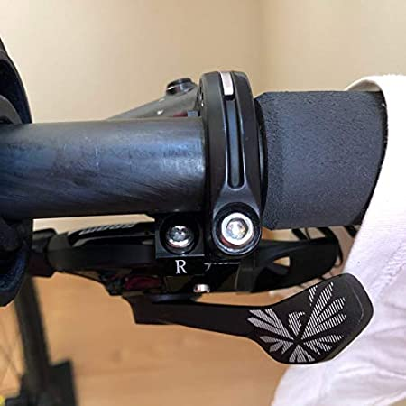 QIDAO ShiftMount Integrate Shifter Mount Matchmaker I-SPEC II Clamp Band Adapter for Shimano I-Spec II clamp Brake Lever Integrate Sram Trigger Shifters Lever