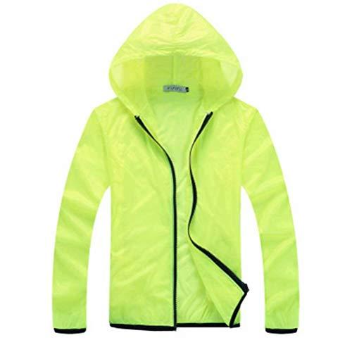 Traspirante Vintage Unisex Skin Rapida Targogo Grün Size Men Nner Abbigliamento Giacca 2 Asciugatura A color Protezione Uv Solare Vento L 0tfxwEwqz
