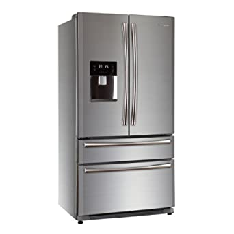 haier american fridge freezer. haier hb22fwrssaa 522l frost free american-style 4-door fridge freezer with ice maker and water dispenser stainless steel american