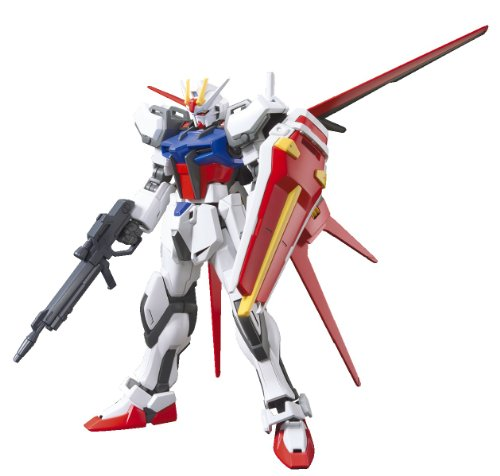 (Bandai Hobby HGCE Aile Strike Gundam Model Kit (1/144 Scale))