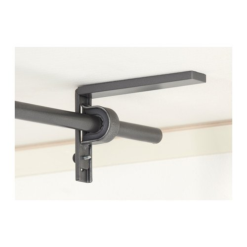 Ikea Silver Betydlig Curtain Rod Wall Or Ceiling