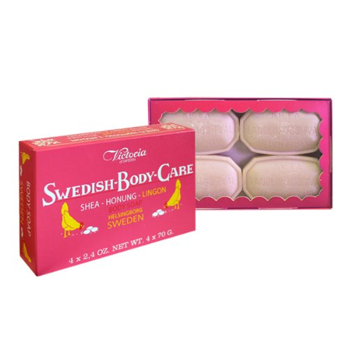 Victoria Soaps of Sweden Swedish Body Care Shea Butter So...
