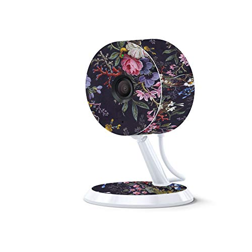 MightySkins Skin for Amazon Cloud Cam – Midnight Blossom | Protective, Durable, and Unique Vinyl Decal wrap Cover | Easy to Apply, Remove, and Change Styles | Made in The USA Review