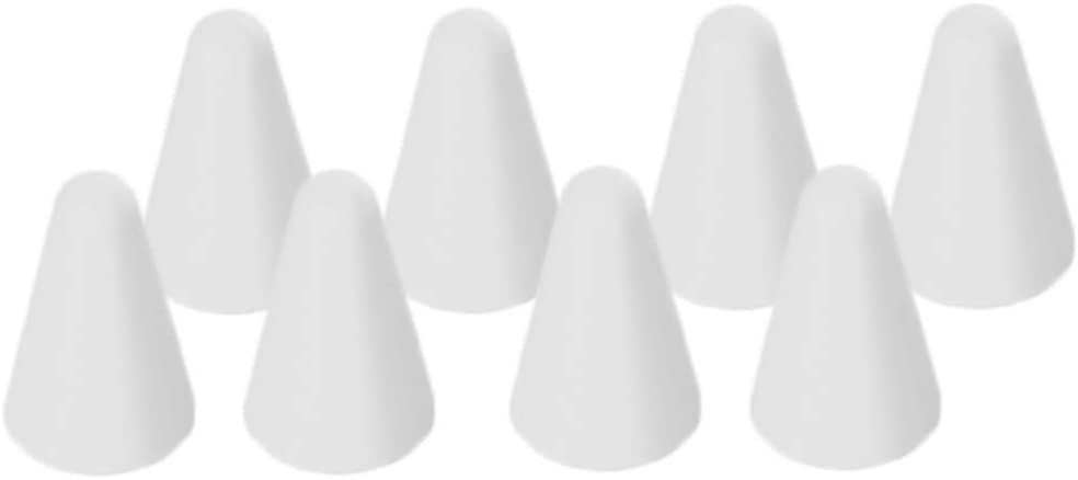 8pcs Pointe pour Apple Pencil Remplacement Pointes Accessoires de Remplacement pour Apple Pencil Blanc