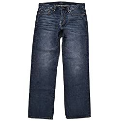 Lucky Brand Men's 363 Vintage Straight Jeans (32x32, Biome)