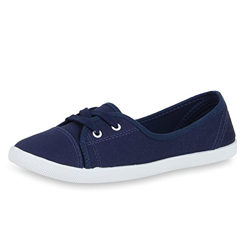 Damen Low SCARPE Dunkelblau VITA Sneaker Basic Basic 6RwqfSx5
