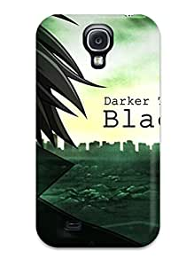 Defender Case For Galaxy S4, Hei Darker Than Black Pattern