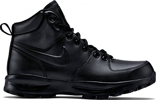 Nike Men's Manoa Leather Hiking Boot (11 D(M) US) Black/Black/Black