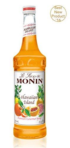 Monin Hawaiian Island Syrup (Orange Tropical Fruit)