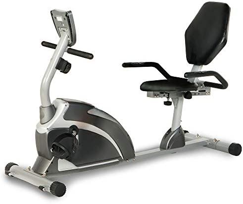 EXERPEUTIC 900XL 300 lbs. Weight Capacity Recumbent Exercise Bike