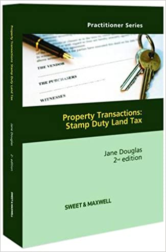Book Property Transactions: Stamp Duty Land Tax