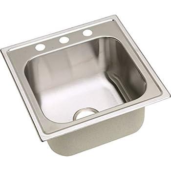Elkay Dpc12020102 20 Gauge Stainless Steel Single Bowl Top