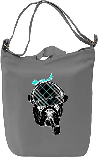 Hunter Dog Borsa Giornaliera Canvas Canvas Day Bag| 100% Premium Cotton Canvas| DTG Printing|