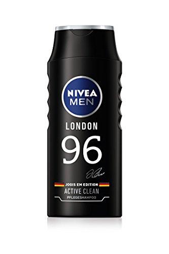 Nivea Men Pflegeshampoo Active Clean, 4er Pack (4 x 250 ml),Gestaltung sortiert