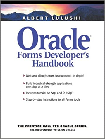 Oracle Developer 2000 Ebook