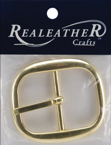 Silver Creek Realeather Crafts BU1824-1 Belt Buckle, 1.5-...