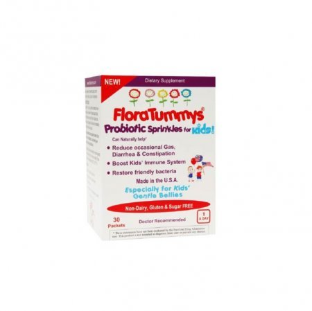 FloraTummys Probiotic Sprinkles Packets 30 Each