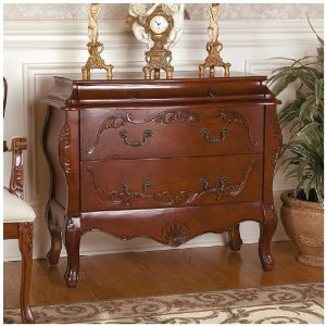 Carved Bombe Chest (33
