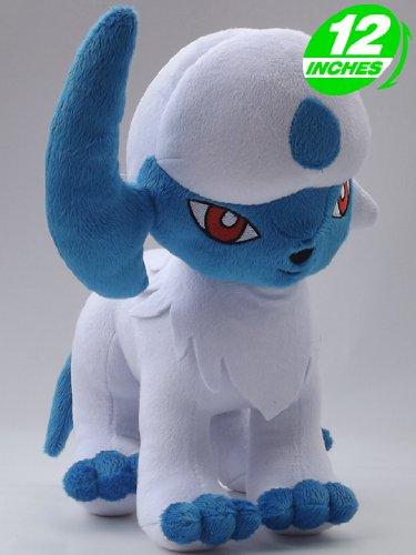 Cheap Anime Pokemon Absol Plush Doll 12 Inches