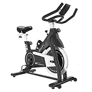 Well-Being-Matters 41Y01whg7DL._SS300_ Ativafit Exercise Bike Stationary Indoor Cycling Bike 35 lbs Flywheel Belt Drive Workout Bicycle Training LCD Monitor…