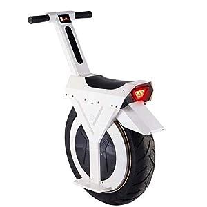 41Y026tMNiL. SS300 L.HPT Scooter Elettrico per Adulti da 17 Pollici Monociclo Elettrico per Auto Intelligente per bilanciamento con luci a…