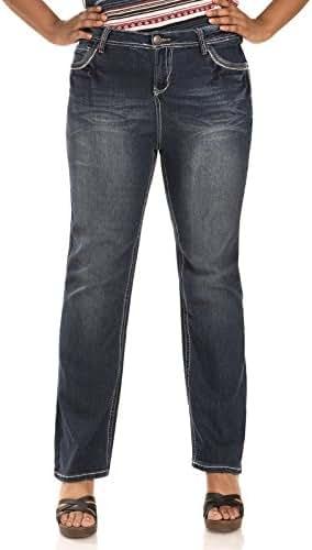 WallFlower Juniors Plus Size Washed Basic Legendary Bootcut Jeans