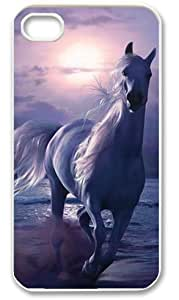 Iphone 4 4s Case Cover Running Horse Hot Favourite Apple Iphone 4 4s