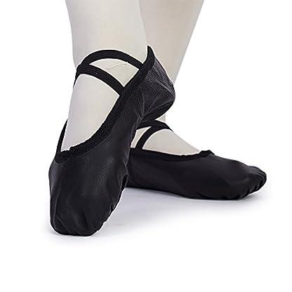 MSMAX Women's Ballet Performa Shoes Yoga Dance Practice Slippers