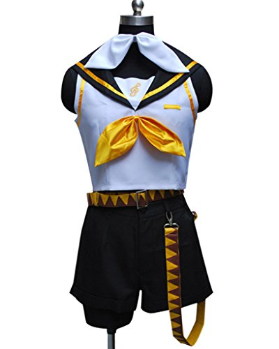 CosplayNow Vocaloid 2 Kagamine Rin Cosplay Costume Black M