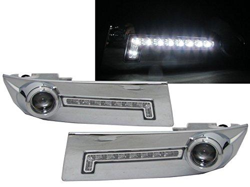 CrazyTheGod LAND CRUISER PRADO FJ120 2002-2009 Projector Fog Light Lamp CHROME for TOYOTA (Toyota Prado Lamp compare prices)