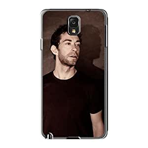 AlissaDubois Samsung Galaxy Note3 Protective Cell-phone Hard Covers Allow Personal Design Realistic Breaking Benjamin Image [fTh315cknO]