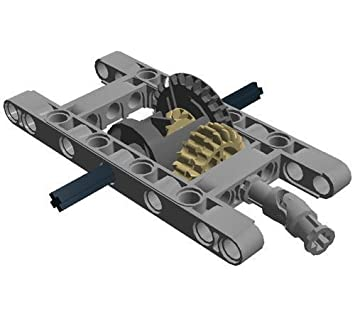 Lego 10pc Technic Framed Differential Gear Set Kit