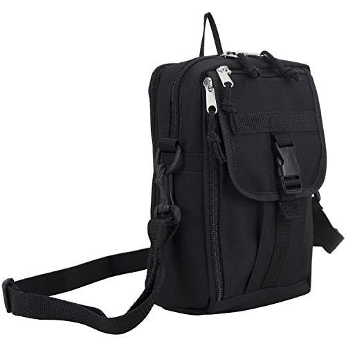 Eastsport Men's Multifunctional Messenger Bag, Over Shoulder, Crossbody for Everyday Use, (Best Eastsport Messenger Bags)