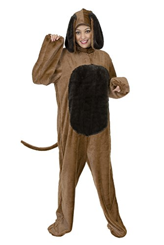 Charades Unisex Adult Big Dog Costume, Medium