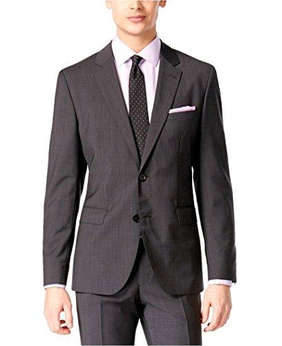 400a01688 Hugo Boss Men's Charcoal Extra Slim Fit 2 Piece Suit C-Jeffrey C-Simmons by  HUGO
